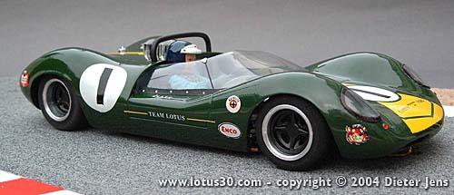 Jim Clark's Team Lotus - Lotus Type 40 by Dieter Jens