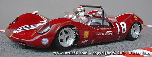 Team Willment Lotus 30 by Dieter Jens